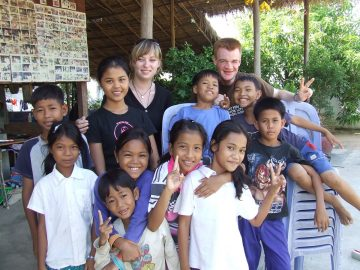 mission humanitaire au Cambodge