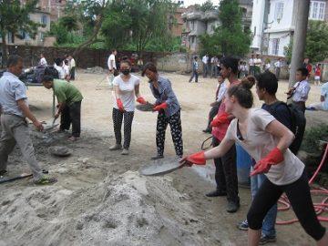 Volontariat en reconstruction après le séisme au Népal