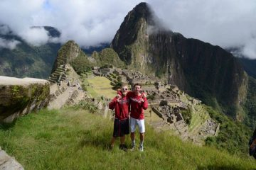 Volontaires au Machu Picchu