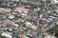 Aider sur place après une catastrophe naturelle
