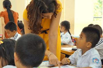 mission humanitaire en enseignement