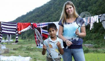 volontariat au Népal