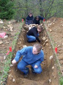 volontaires en archéologie