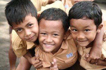 volontariat avec des enfants