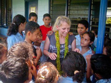 volontariat Samoa