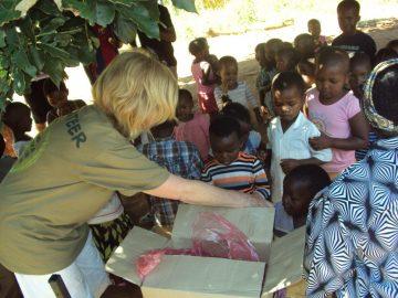 mission humanitaire en Afrique