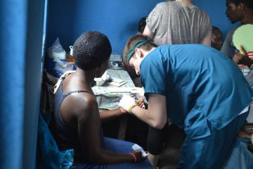 travail humanitaire