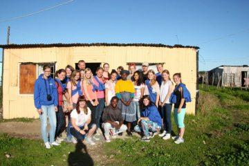 Chantier jeune en Afrique